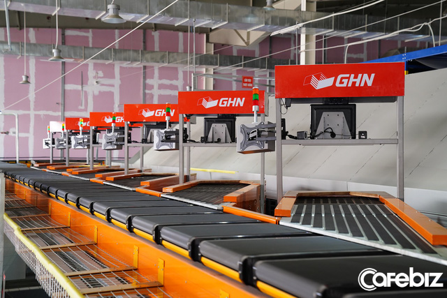 GHN ra mắt hệ thống phân loại hàng tự động 100% lớn nhất tại Việt Nam: Năng suất 30.000 đơn/giờ, tiết kiệm 600 nhân công, rút ngắn thời gian từ 3 giờ còn 30 phút - Ảnh 5.