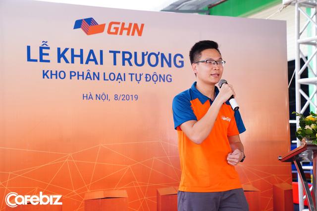 GHN ra mắt hệ thống phân loại hàng tự động 100% lớn nhất tại Việt Nam: Năng suất 30.000 đơn/giờ, tiết kiệm 600 nhân công, rút ngắn thời gian từ 3 giờ còn 30 phút - Ảnh 1.