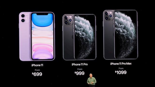 Bảng giá chi tiết iPhone 11, iPhone 11 Pro, iPhone 11 Pro Max và iPhone 8, iPhone XR - Ảnh 1.
