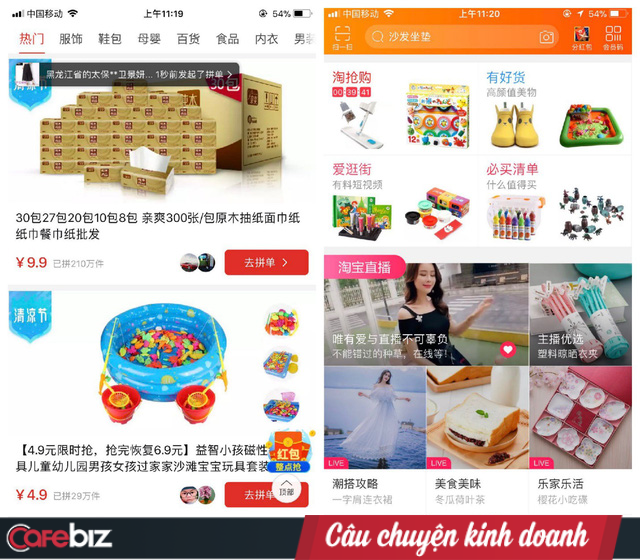"""Pinduoduo's """"divine"""" shared purchase model, turning users into salespeople, 4 years founded an empire of $ 39 billion, terrified both Alibaba and JD - Photo 1."""