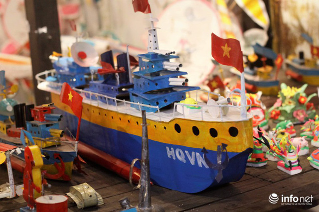Ký ức Trung thu xưa ùa về qua những món đồ chơi truyền thống - Ảnh 7.