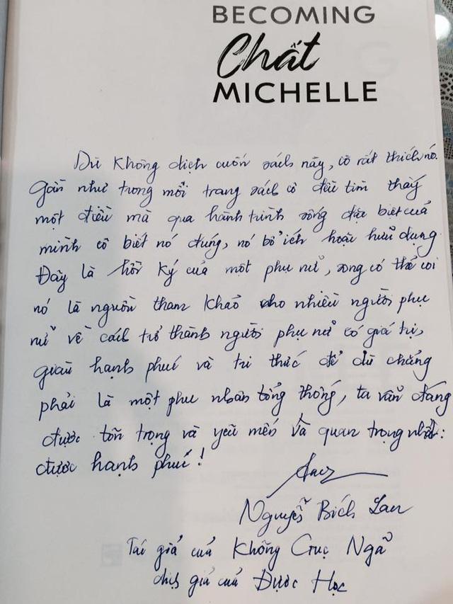 Gần 10.000 cuốn sách đến tay bạn đọc chỉ sau 4 tuần, Chất Michelle' đã tạo nên một hiện tượng trong ngành xuất bản Việt Nam - Ảnh 3.