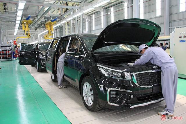 Thaco nâng cấp, mở rộng nhà máy lắp ráp xe Kia: Công suất 50.000/năm, sản xuất tự động và điều hành thông minh - Ảnh 1.
