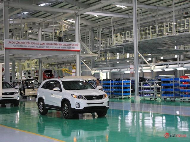Thaco nâng cấp, mở rộng nhà máy lắp ráp xe Kia: Công suất 50.000/năm, sản xuất tự động và điều hành thông minh - Ảnh 2.