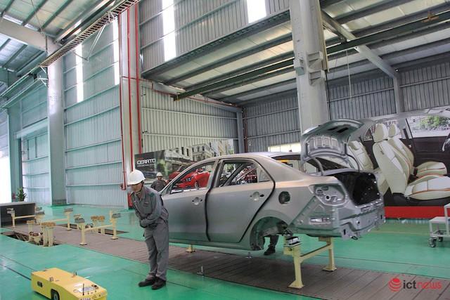 Thaco nâng cấp, mở rộng nhà máy lắp ráp xe Kia: Công suất 50.000/năm, sản xuất tự động và điều hành thông minh - Ảnh 4.