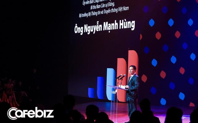 Bộ trưởng TTTT Nguyễn Mạnh Hùng nói về MXH Lotus: Rồi những startup sẽ thay thế những gã khổng lồ, các startup Việt nên có niềm tin này để khởi nghiệp!