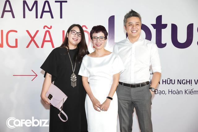 Nhiều doanh nhân, chuyên gia marketing… đổ bộ thảm đỏ ra mắt MXH Lotus - Ảnh 2.