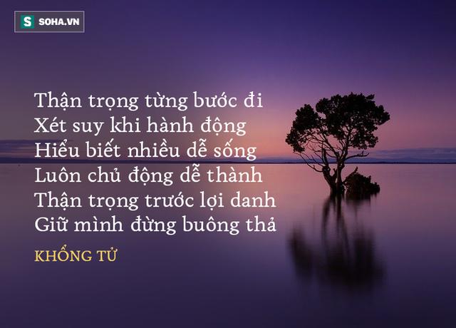 Học trò giận Khổng Tử bỏ về nhà, ông dặn 1 câu, cứu được đệ tử và 2 người nữa khỏi cái chết - Ảnh 3.
