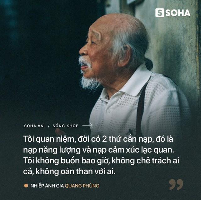 Tiên ông nhiếp ảnh U90 ở HN: Hồi sinh kỳ diệu sau cơn đột quỵ và bí quyết sống thọ ít ai ngờ - Ảnh 4.