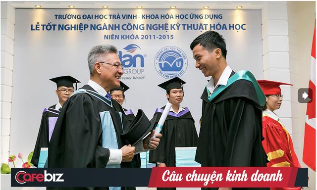 Ông 'Việt Kiều té giếng' Nguyễn Thanh Mỹ và hành trình 37 năm thực hiện giấc mơ tưởng giản đơn - nâng cao đời sống cho người dân quê hương Trà Vinh - Ảnh 2.
