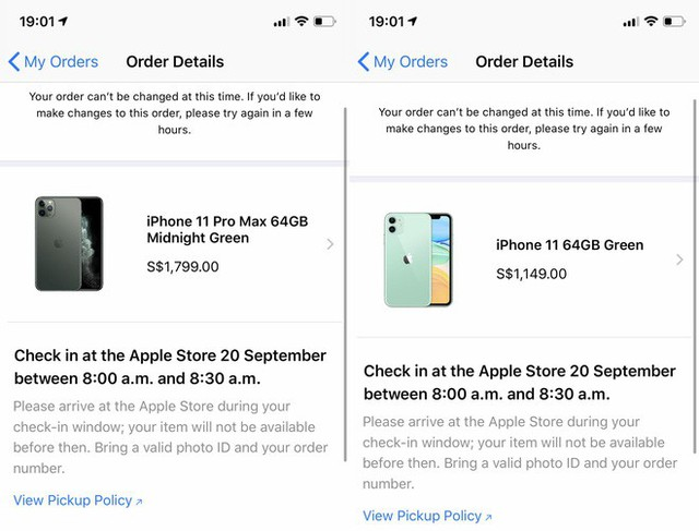 Trải nghiệm đặt hàng iPhone 11 & iPhone 11 Pro tại Singapore và lý do bạn không nên mua iPhone 11 quá sớm - Ảnh 2.