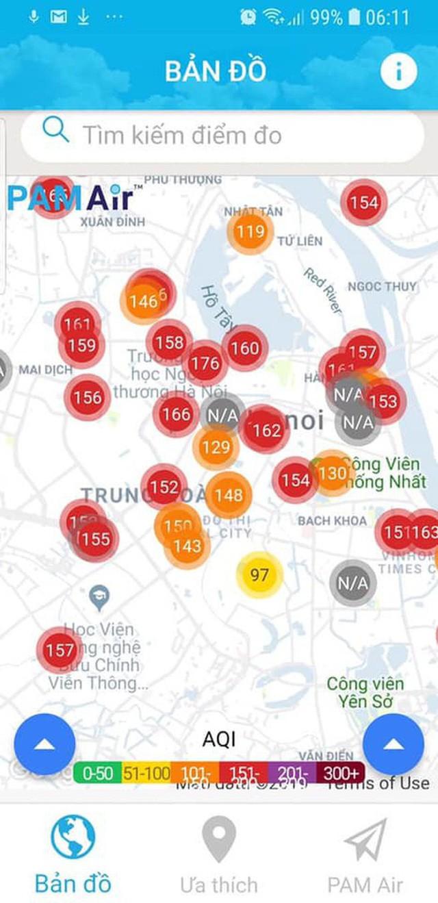 Cảnh báo tình trạng ô nhiễm 3 ngày liên tiếp ở Hà Nội: Duy trì đến cuối tuần, người dân nên hạn chế ở ngoài trời quá lâu - Ảnh 2.