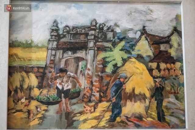 Người hoạ sĩ đằng sau bức tranh nổi tiếng giữa bờ Hồ: Tiền bao nhiêu cũng hết, nhưng để lại tác phẩm muôn đời cho nhân dân mới quý giá - Ảnh 3.