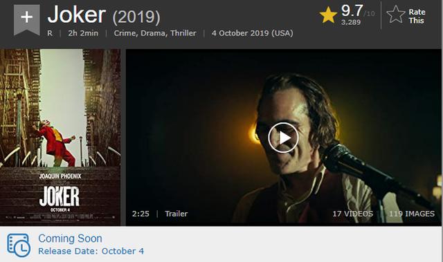 Joker, phim mới về tên hề ác nhân của DC sẽ là một siêu phẩm, bạn cứ nhìn số điểm nó nhận được thì biết - Ảnh 6.