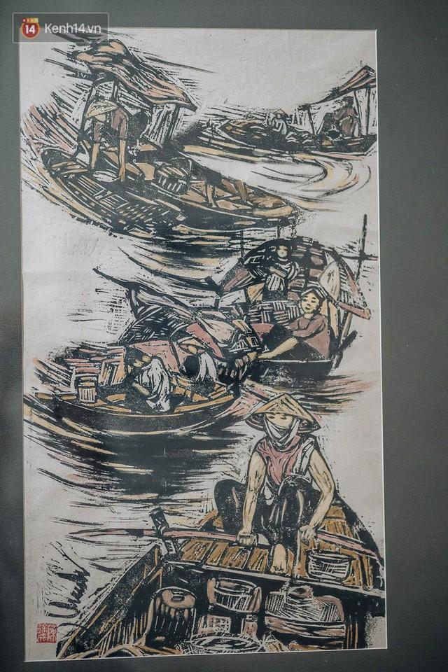 Người hoạ sĩ đằng sau bức tranh nổi tiếng giữa bờ Hồ: Tiền bao nhiêu cũng hết, nhưng để lại tác phẩm muôn đời cho nhân dân mới quý giá - Ảnh 5.