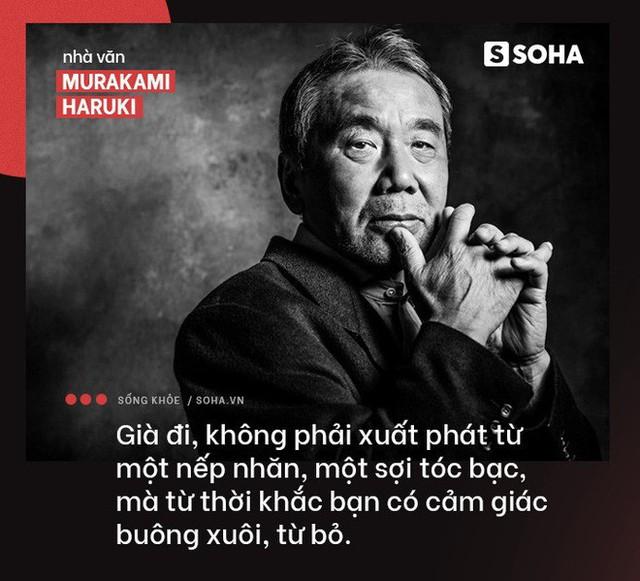 Nhà văn Nhật Haruki: Tâm an là chìa khóa, vận động là chất xúc tác để trẻ lâu, sống thọ - Ảnh 1.