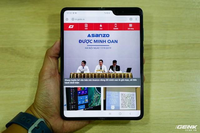 Quan tâm iPhone 11 làm gì, xem Galaxy Fold vừa mới về Việt Nam đây này! - Ảnh 12.