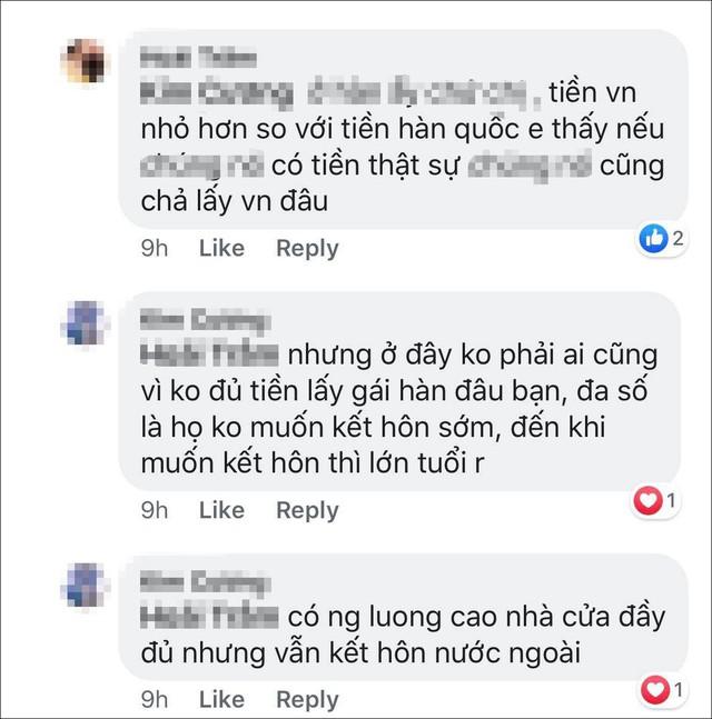 Phát ngôn Đàn ông Hàn không có điều kiện mới lấy vợ Việt của Khoa Pug: Phụ nữ lấy chồng xa xứ cần được tôn trọng, chở che, ít nhất từ những người cùng dân tộc - Ảnh 3.