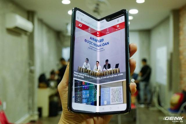 Quan tâm iPhone 11 làm gì, xem Galaxy Fold vừa mới về Việt Nam đây này! - Ảnh 6.