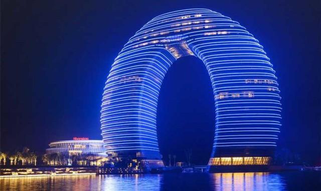 10 tòa nhà kiến trúc kỳ lạ nổi tiếng ở Trung Quốc - Ảnh 10.
