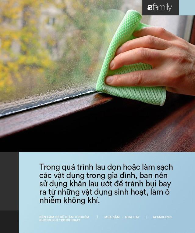 11 cách bạn có thể làm để giảm ô nhiễm không khí trong nhà trong những ngày Hà Nội, Sài Gòn đều ô nhiễm nặng nề - Ảnh 1.