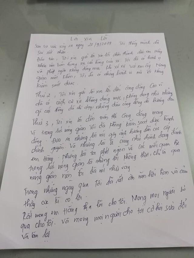 Chủ tiệm giày đánh tát nữ sinh viên làm thêm viết tâm thư xin lỗi: Nóng giận mất khôn. Mong mọi người cho tôi cơ hội sửa đổi - Ảnh 3.
