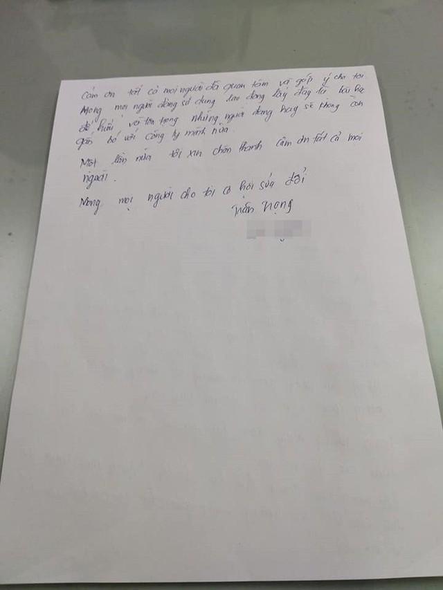 Chủ tiệm giày đánh tát nữ sinh viên làm thêm viết tâm thư xin lỗi: Nóng giận mất khôn. Mong mọi người cho tôi cơ hội sửa đổi - Ảnh 4.