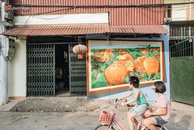 7 sinh viên biến làng trồng rau củ thành làng bích họa đầu tiên của Hà Nội - Ảnh 12.