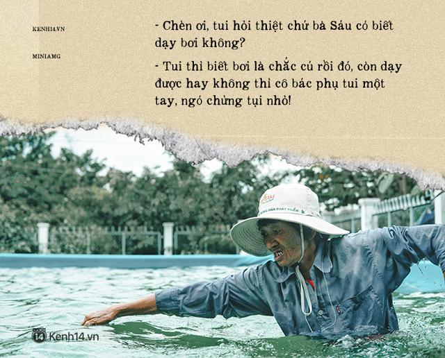 Bà Sáu Thia, người 17 năm dạy bơi miễn phí cho hàng ngàn trẻ em vùng sông nước - Ảnh 4.