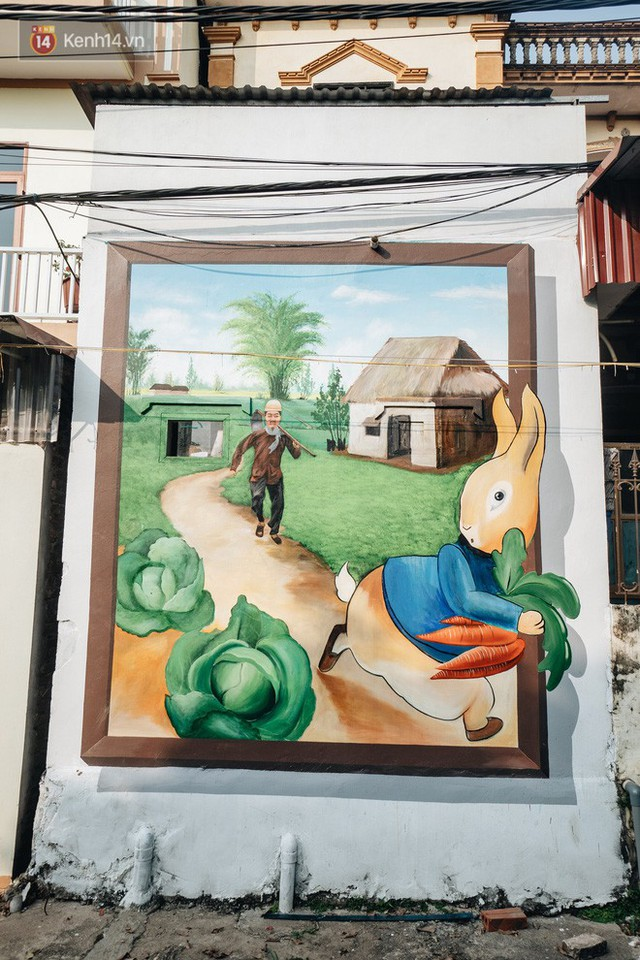 7 sinh viên biến làng trồng rau củ thành làng bích họa đầu tiên của Hà Nội - Ảnh 5.