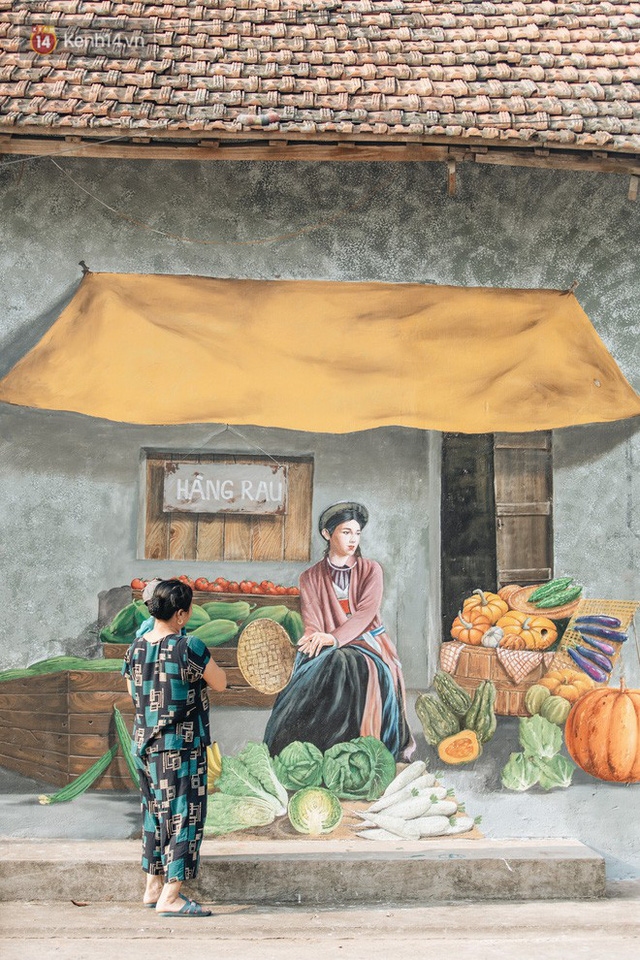 7 sinh viên biến làng trồng rau củ thành làng bích họa đầu tiên của Hà Nội - Ảnh 6.