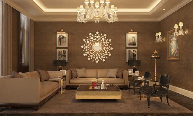 Giới thượng lưu Việt Nam trang trí phòng khách trong biệt thự 6 triệu USD Vinhomes đẳng cấp như thế nào? - Ảnh 4.