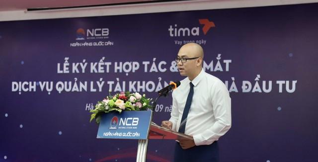 Sàn Tima ký kết hợp tác phát triển và ứng dụng các công nghệ mới trong lĩnh vực tài chính với Ngân hàng TMCP Quốc Dân - Ảnh 1.