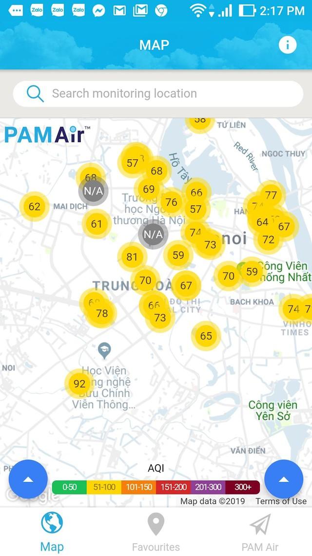 Hướng dẫn xem chỉ số chất lượng không khí ở Việt Nam - Ảnh 3.