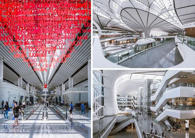 """Choáng ngợp với sân bay siêu to khổng lồ trị giá 11 tỷ USD của Trung Quốc, mang tham vọng """"nổi dậy"""" trên bầu trời nước Mỹ - Ảnh 4."""