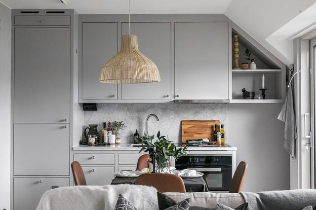 Rộng vỏn vẹn 38m², chủ sở hữu căn hộ nhỏ vẫn có không gian sống mơ ước với nhiều góc sống ảo - Ảnh 1.