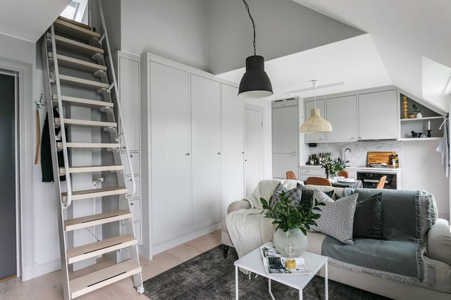 Rộng vỏn vẹn 38m², chủ sở hữu căn hộ nhỏ vẫn có không gian sống mơ ước với nhiều góc sống ảo - Ảnh 2.
