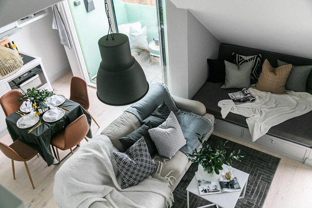 Rộng vỏn vẹn 38m², chủ sở hữu căn hộ nhỏ vẫn có không gian sống mơ ước với nhiều góc sống ảo - Ảnh 3.