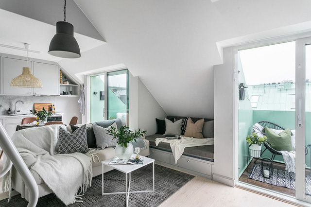 Rộng vỏn vẹn 38m², chủ sở hữu căn hộ nhỏ vẫn có không gian sống mơ ước với nhiều góc sống ảo - Ảnh 4.