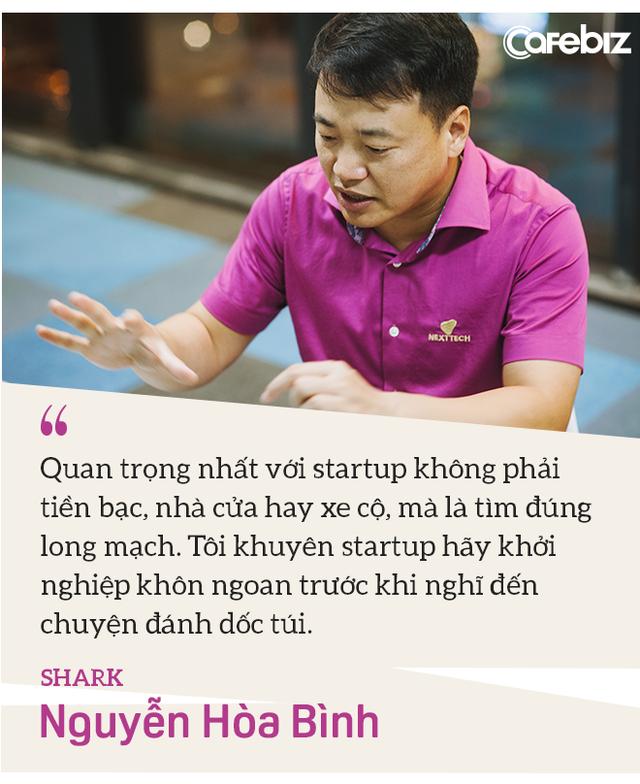 Shark Nguyễn Hòa Bình: Tôi đến Shark Tank không phải để PR, vì tôi đã nổi tiếng sẵn rồi! - Ảnh 5.