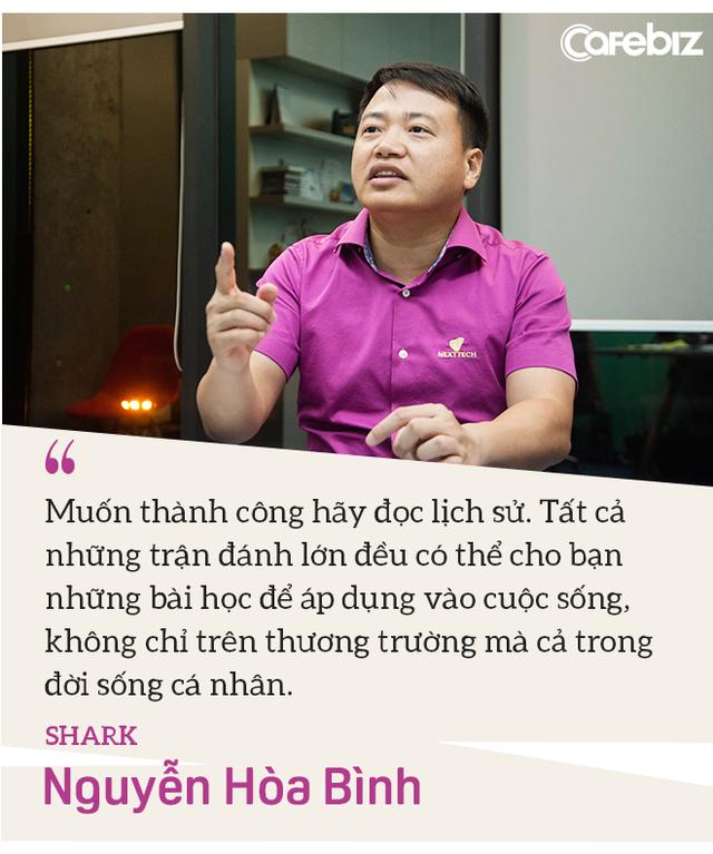 Shark Nguyễn Hòa Bình: Tôi đến Shark Tank không phải để PR, vì tôi đã nổi tiếng sẵn rồi! - Ảnh 7.
