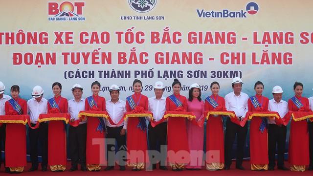 Thông xe cao tốc, Hà Nội đi Lạng Sơn giảm 1 tiếng đồng hồ - Ảnh 1.