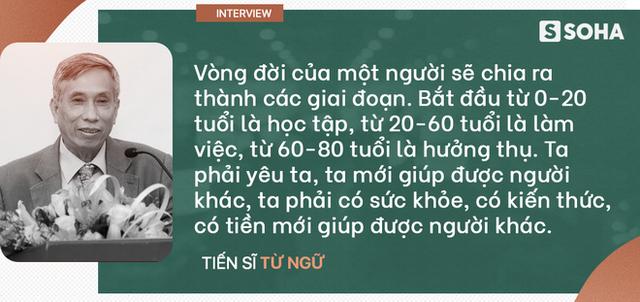 """TS Từ Ngữ: Bí quyết sống khỏe là một """"vòng tròn khép kín; con em chúng ta đang mất gốc! - Ảnh 9."""