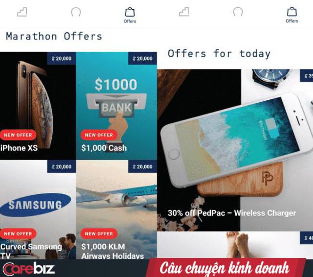 """Sweatcoin: Ứng dụng trả tiền khi người dùng … đổ mồ hôi. Hoàn toàn miễn phí, dùng """"bước đi"""" để đổi lấy iPhoneX, TV Samsung hay 1.000 USD - Ảnh 3."""