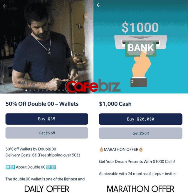 """Sweatcoin: Ứng dụng trả tiền khi người dùng… đổ mồ hôi. Hoàn toàn miễn phí, dùng """"bước đi"""" để đổi lấy iPhoneX, TV Samsung hay 1.000 USD - Ảnh 5."""