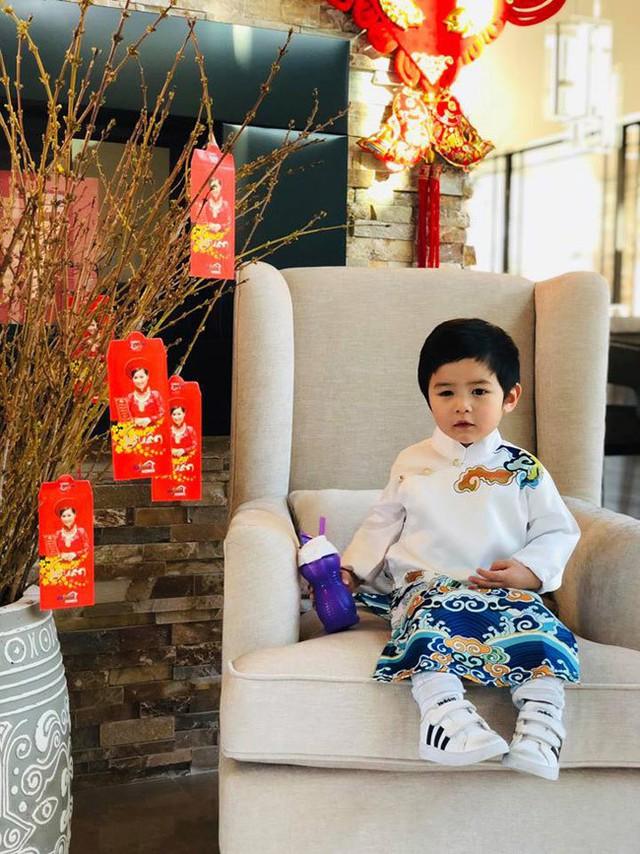 Con trai 2 tuổi của Đan Trường kiếm hơn 20 triệu một tháng gây 'choáng' - Ảnh 4.