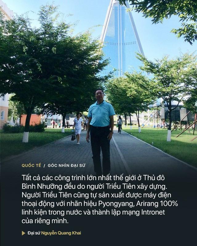 Kí sự của Đại sứ Nguyễn Quang Khai: Có một Triều Tiên hoàn toàn khác những gì phương Tây khắc họa - Ảnh 4.