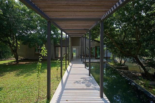 Ngôi nhà không cửa hòa mình với thiên nhiên đẹp khó cưỡng - Ảnh 3.
