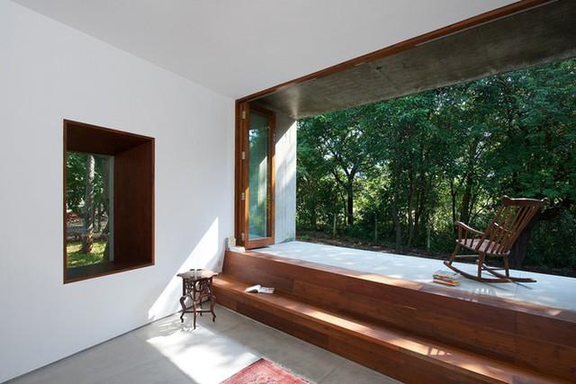 Ngôi nhà không cửa hòa mình với thiên nhiên đẹp khó cưỡng - Ảnh 8.