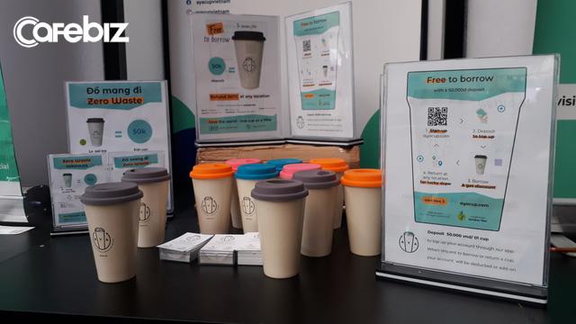 Xuất hiện startup giải được bài toán nhựa của Highlands Coffee: Với đồ uống take away, khách hàng được mượn cốc mang về mà không phải trả bất kỳ khoản phí nào - Ảnh 1.